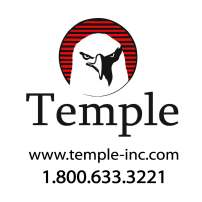 Temple Inc 10x10 inch logo
